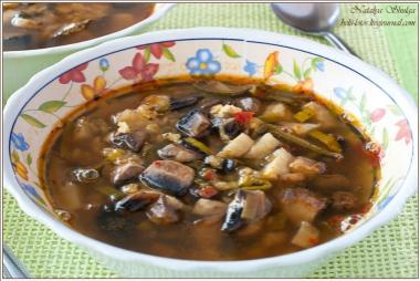 рецепты крем супов из грибов #11
